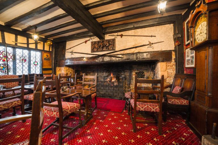 Medieval pub in Rye