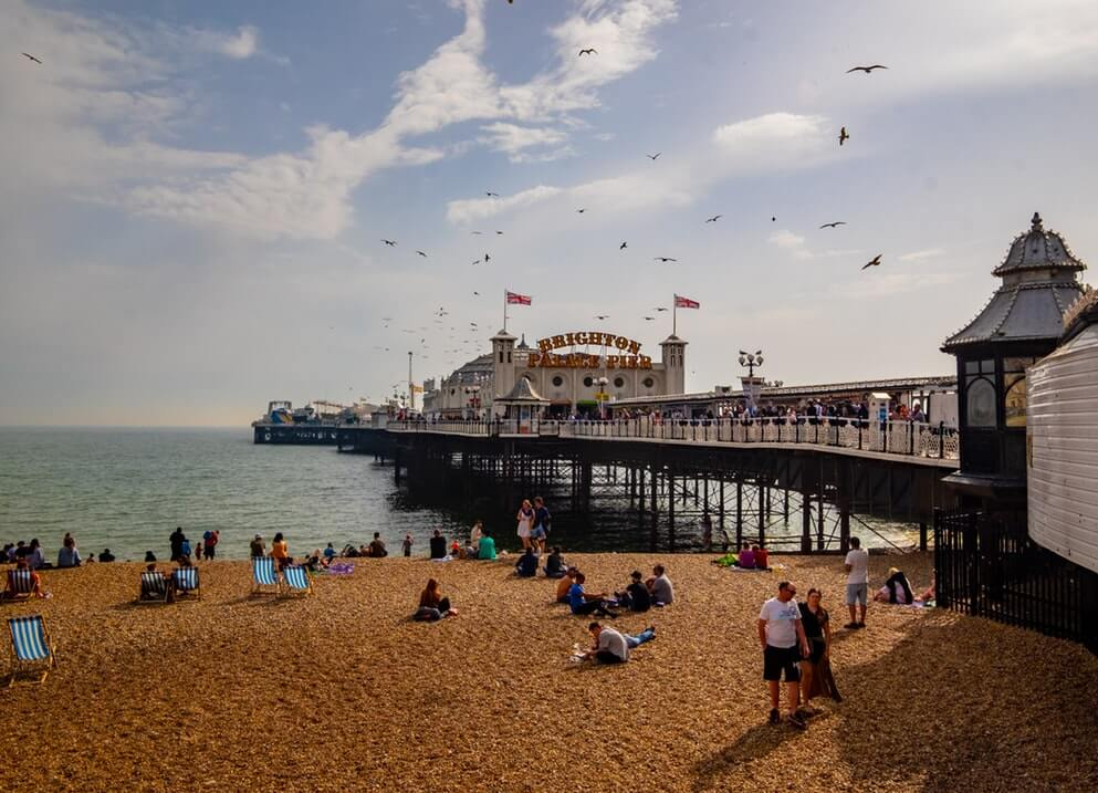 Hastings on Sussex Coast