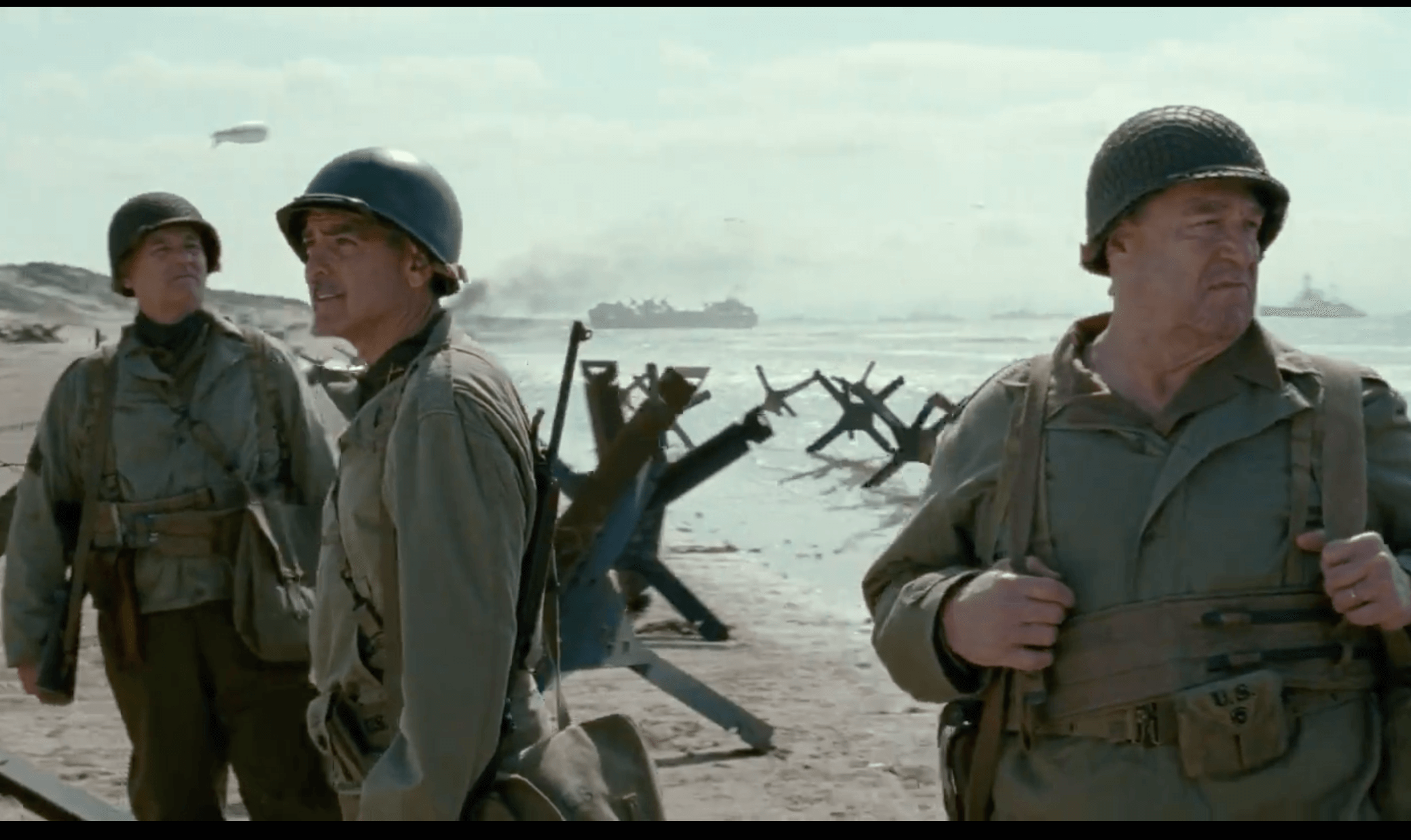 The Monuments Men filmed at Camber Sands