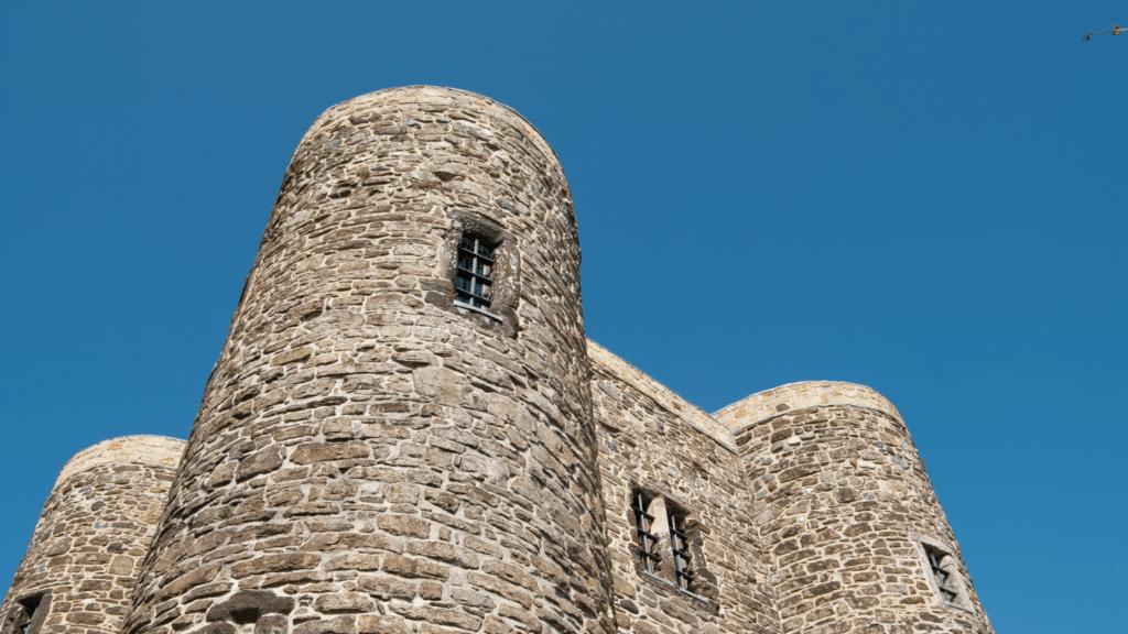 Rye Castle in East Sussex
