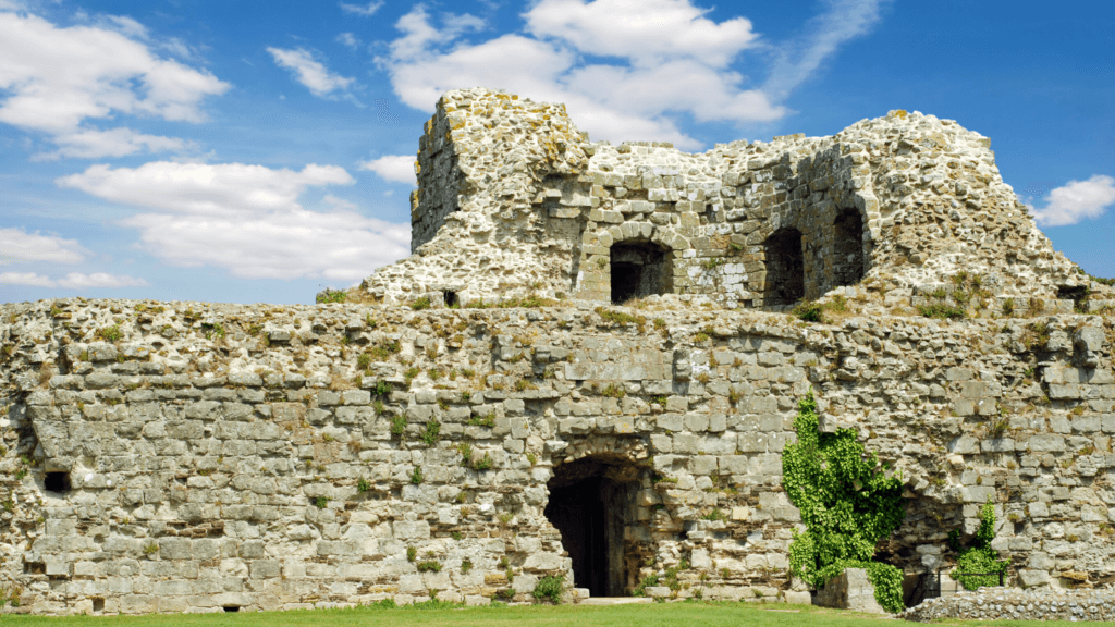 Pevensey Castle is where William the Conqueror first landed in England