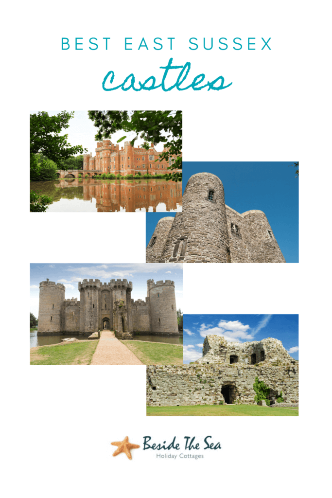 There are 7 East Sussex castles to explore on day trips in Sussex from ruins to regal homes