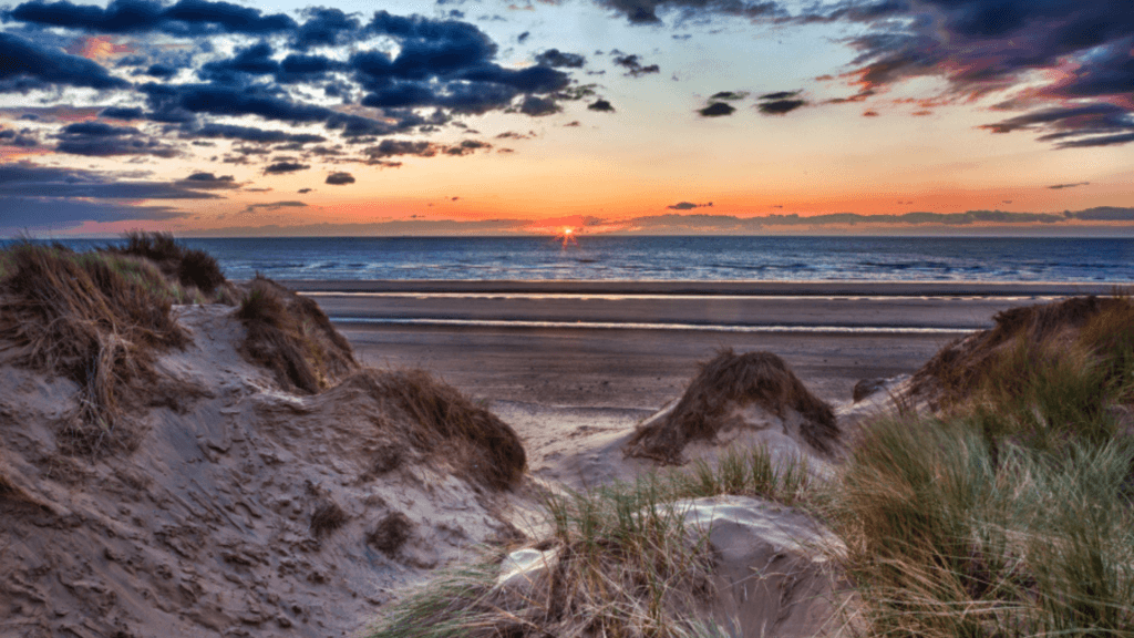 Sunrise Camber Sands