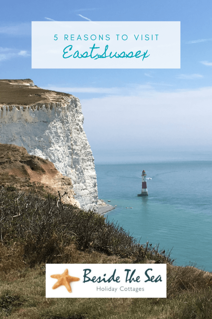 Holidays in Camber Sands are an ideal excuse to visit East Sussex