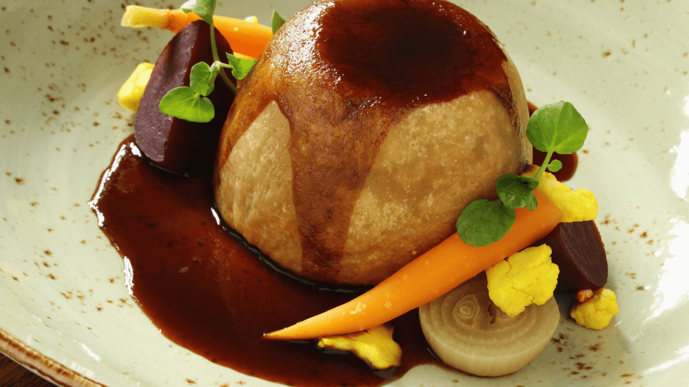Suet puddings are a traditional Sussex dish