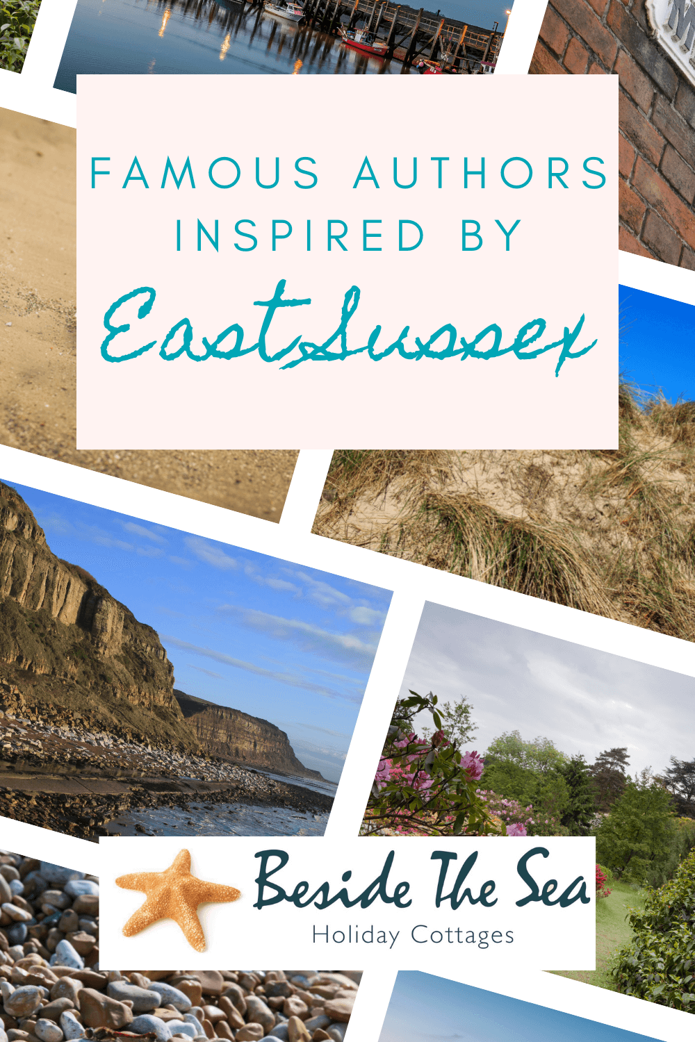 East Sussex is famous for its authors too. Which ones do you recognise? Who will you read next?